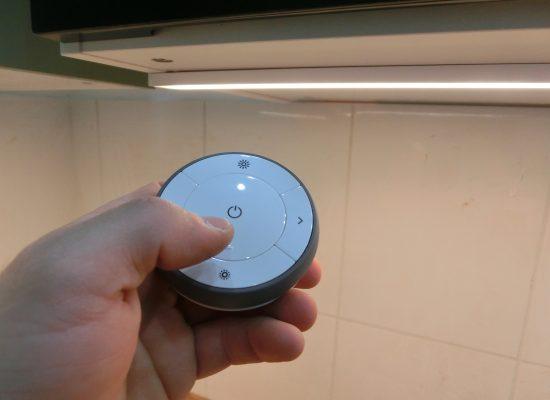 IKEA Konyha összeszerelés - OMLOPP LED-es munkalapvilágítás