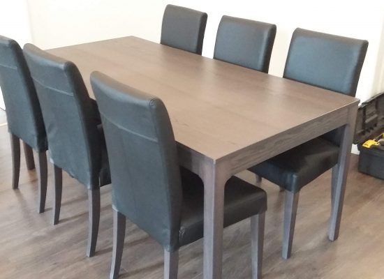 IKEA Bútor Összeszerelés: Kihúzható asztal