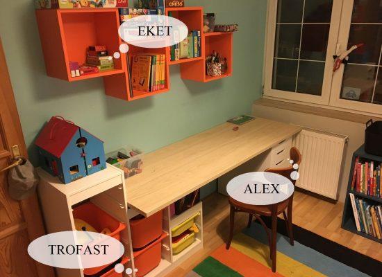 IKEA Bútor Összeszerelés: ALEX - EKET - TROFAST